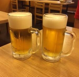 今日出会った生ビール