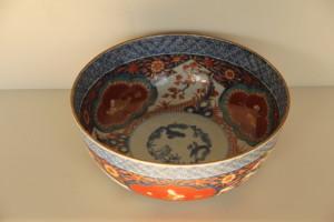 古伊万里の色絵大鉢