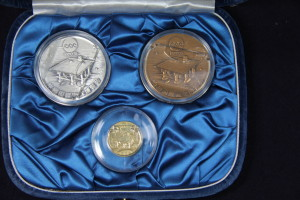 沖縄海洋博記念メダル