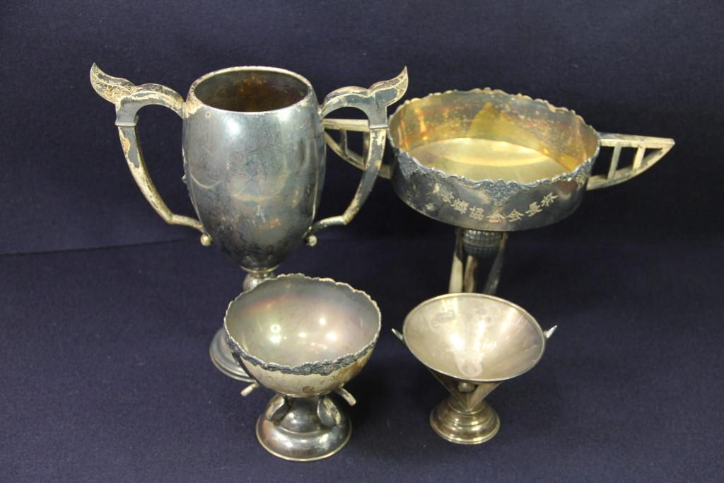 古い銀製品