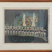平塚運一の木版画
