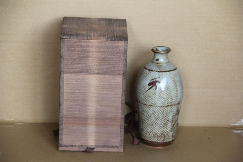 島岡達三 縄文象嵌花瓶