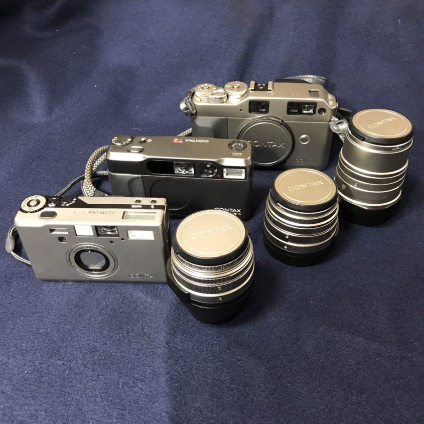 コンタックス製カメラ