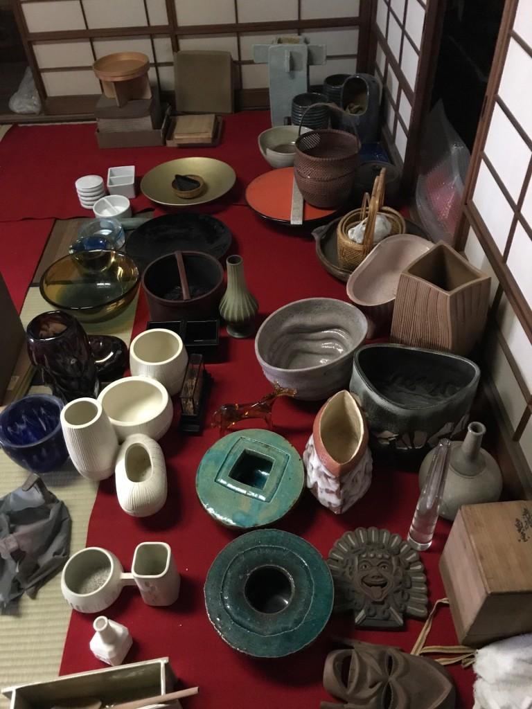 茶道具や花器