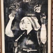 小松均の木版画