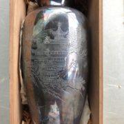 満州時代の銀製花瓶