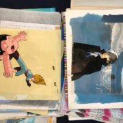 鉄腕アトム・ブラックジャックのセル画像