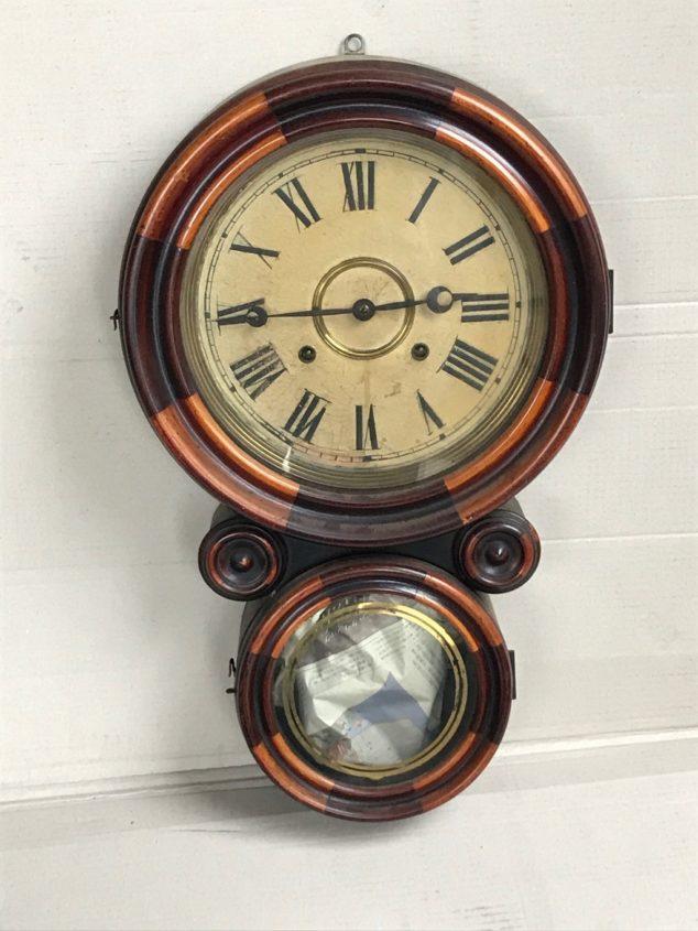 アメリカ・イングラハム社製のダルマ時計