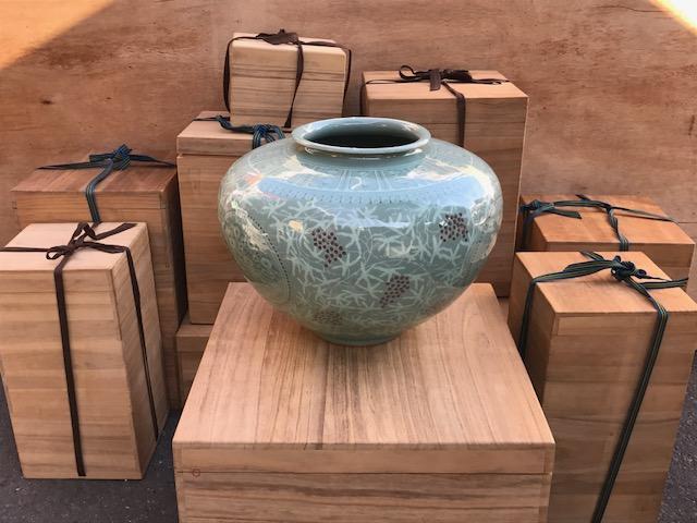 柳海剛の花瓶