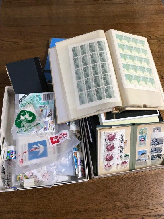 シート式の切手