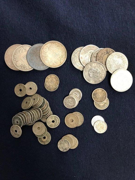 銀貨と古銭