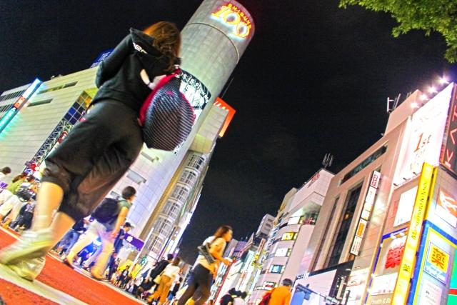 若者の街渋谷