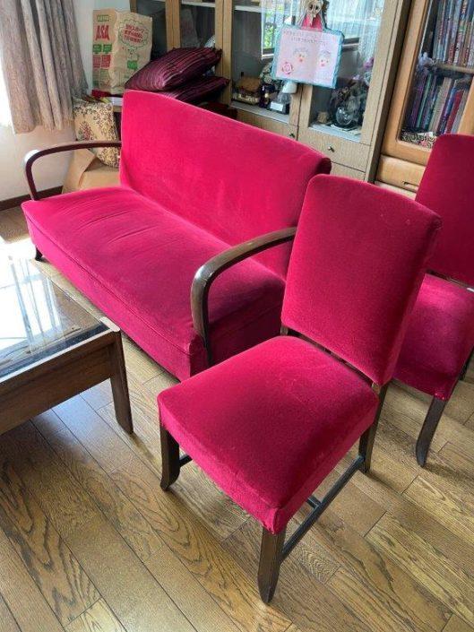 昭和レトロな家具