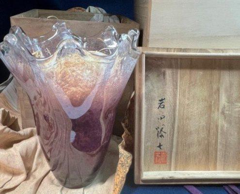 岩田藤七のガラス工芸品「