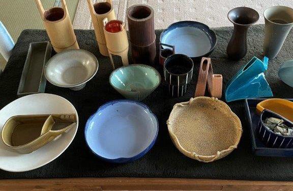 陶器・金属・竹製等の花器